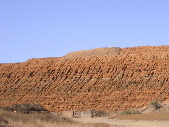 Photo of Iron King tailings